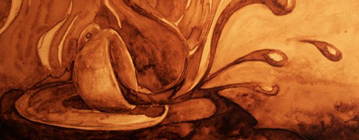 Dipingere con il caffè: Andrew e Angel Sarkela Saur