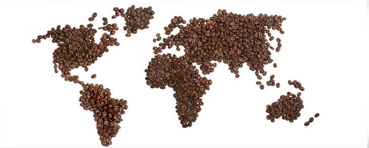 La diffusione del caffè nel mondo